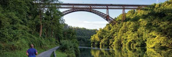 Ponte San Michele Isola Bergamasca