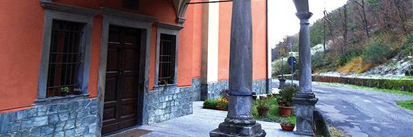 Ca' de' Rizzi e il Santuario dell'Addolorata