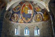 Cristo Pantocratore in trono tra i simboli degli Evangelisti