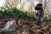 Inizio salita in vetta al Canto sul sentiero-891