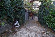 Via panoramica David Maria Turoldo, discesa a Cabergnino