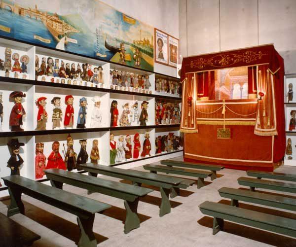 Museo del Falegname Tino Sana Teatrino burattini