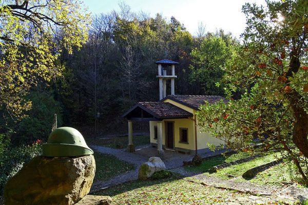 Chiesetta degli Alpini - Madonna dei Cerri (382 m)