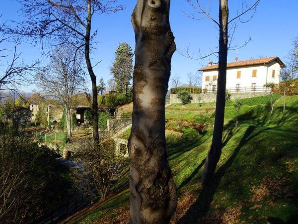 Piccolo borgo antico di Canto (644-m) ruderi