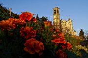 San Michele al tramonto