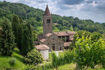 sotto il monte, abbazia di fontanella_esterno
