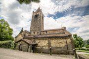 sotto il monte, abbazia fontanella_esterno